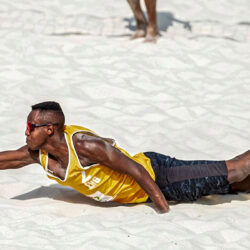 Interview with the beach defence player Issa Batrane