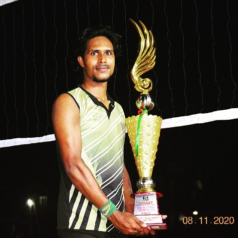 Jithin John bevolleyball volleyball was different in 2020